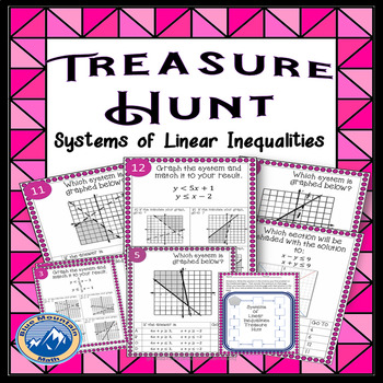 Systems of Linear Inequalities Treasure Hunt
