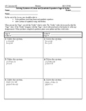 Systems of Linear and Quadratic Equations Sage and Scribe