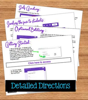 Systems of Non-Linear Equations Self Grading Assignment with Google™ Forms