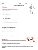 Systems of the Body WebQuest