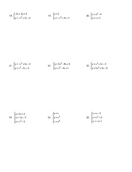 Systems with Quadratic Functions