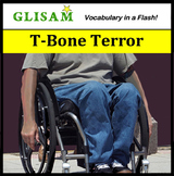T-Bone Terror- flash fiction short story for vocabulary de