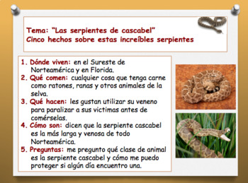 T.C. Informational Writing Session 2: Spanish
