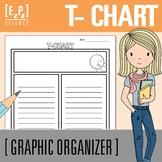 T- Chart Graphic Organizer