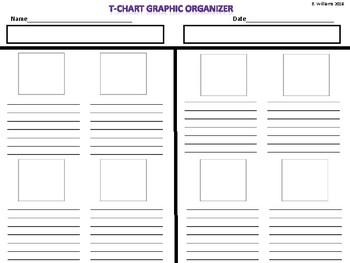 T Chart Graphic Organizer
