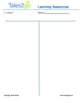 T Chart to use with Tales2go Titles
