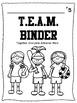 T.E.A.M. Binder Cover