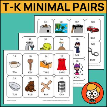 T-K Minimal Pair Cards