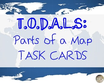 TODALS Task Cards