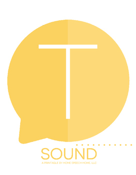 T Sound Printable Flashcards