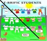 T-RRIFFIC STUDENTS Animated Smartboard Attendance