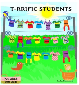 T-RRIFFIC STUDENTS Animated Smartboard Attendance