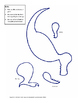 T-Rex Dinosaur Stick Puppet Craft with Movable Legs and Mouth RAWR!