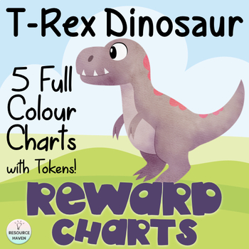 T Rex Dinosaur Themed Reward Charts
