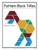 T-Rex Readers' Theater and Pattern Blocks! - Unit 1 (2nd-3rd Grades)