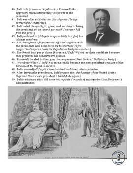 T.Roosevelt and Taft Video Guide - The History Channel Series - The Presidents