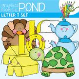 Letter T Set - Alphabet Clipart