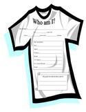 T-Shirt All About Me Activity