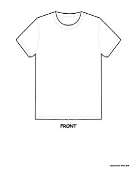 T-Shirt Book Report