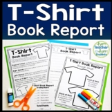 T-Shirt Book Report Template: Students Decorate a T Shirt