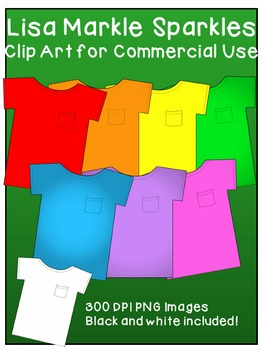 T Shirt Clip Art for Commercial Use