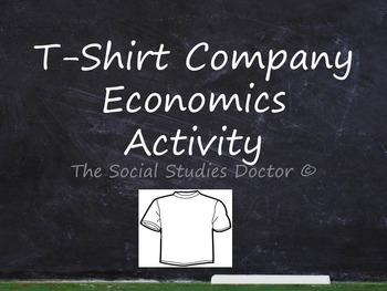 T-Shirt Company Economics Activity