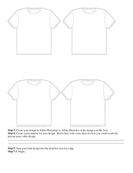 T-Shirt Design Lesson
