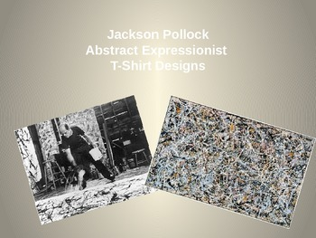 T-Shirt Digital Collages Jackson Pollock