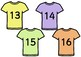 T-Shirt Number Counting Game