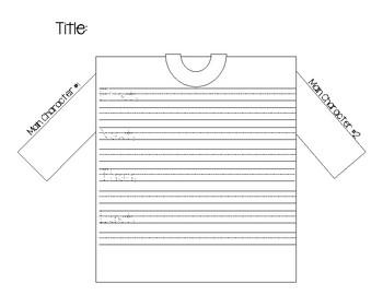 T-Shirt Story Map