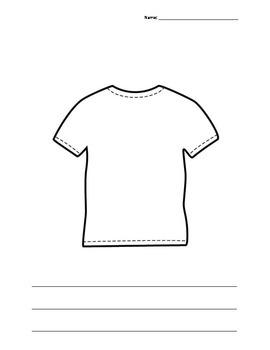 T-Shirt Template - No Clean Clothes