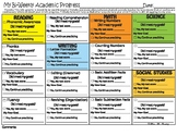 T-TESS Bi-Weekly Academic Progress Info-Graphic for Teachers/Students/Parents