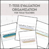 T-TESS Binder Organization
