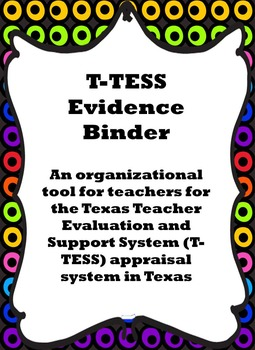 T-TESS Evidence Binder