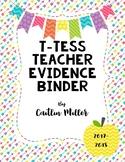 T-Tess Evidence Binder Editable