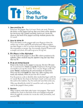 T: Tootie, the Turtle