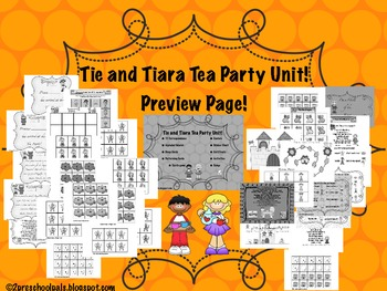 T Week Tie and Tiara Tea Party