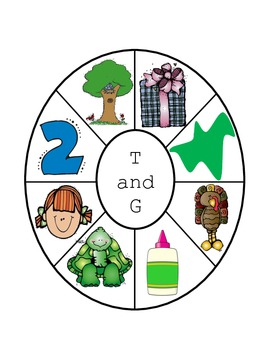 T and G Letter Wheel