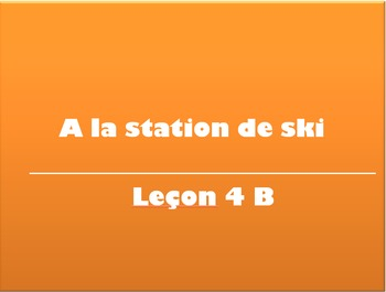 T'es Branché Level 3 Vocab Slideshows Unites 4-6