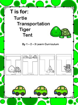T is For: Cutting and Pasting Activity Sheets