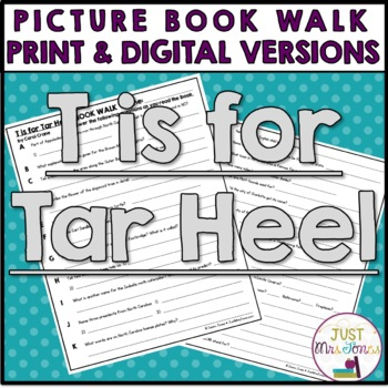 T is for Tar Heel Book Walk