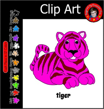 T is for Tiger ~ Commercial Use & Free ClipArt ~ Leave Fee
