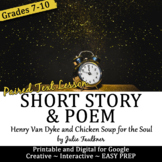 Poetry & Short Story Mini Lesson, T is for Time, New Year, Back to School
