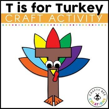 Letter T Craft {Turkey}