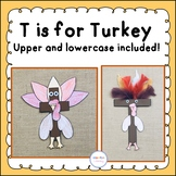 T is for Turkey Letter Craft