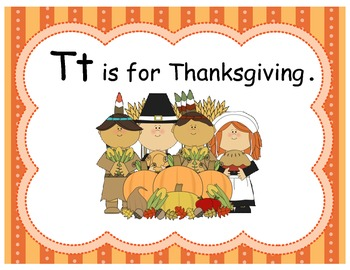 T is for Turkey & Thanksgiving Pack