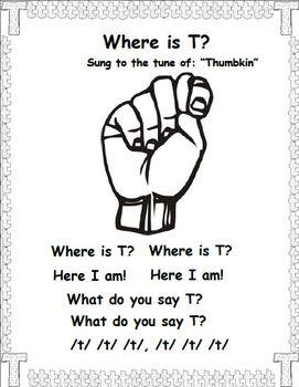 T is for Turtle (Letter T Unit)