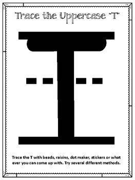 T is for Turtle.  To use with My Father's World.  Alphabet Worksheets