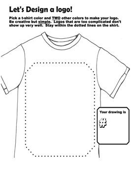 T-shirt logo design template