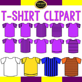 T-shirts and soccer jersey clipart